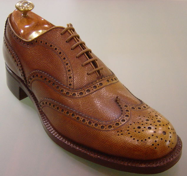 Shoe--Oxford--men