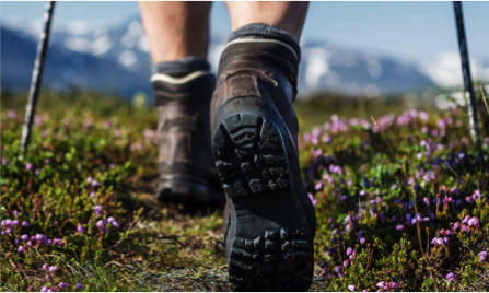 Long hikes take toll on feet, ankles