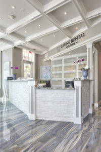Leone Dental Reception Area - Armonk, NY