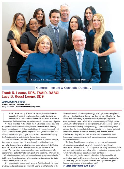 Leone Dental - Best of Westchester Magazine