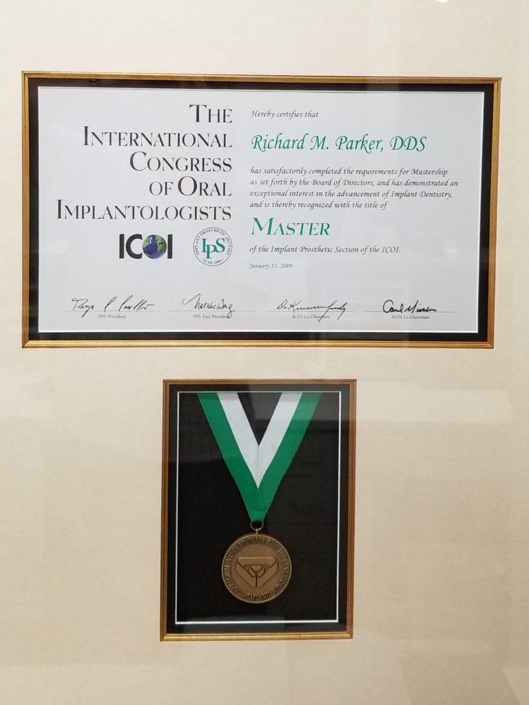 ICOI Master Certificate