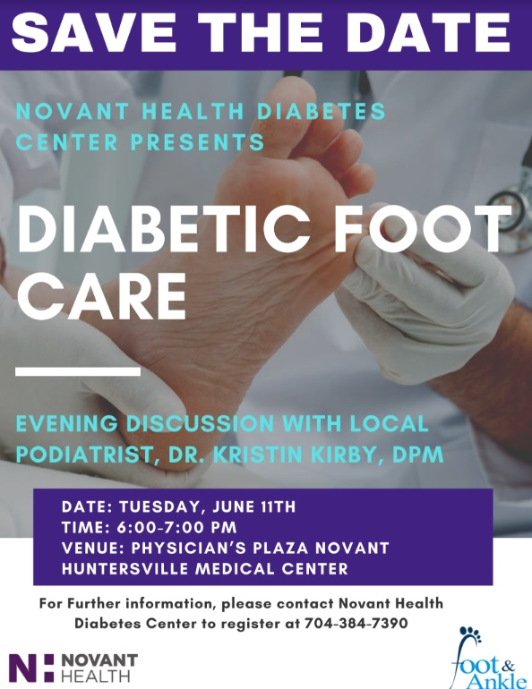 diabetic foot care discussion